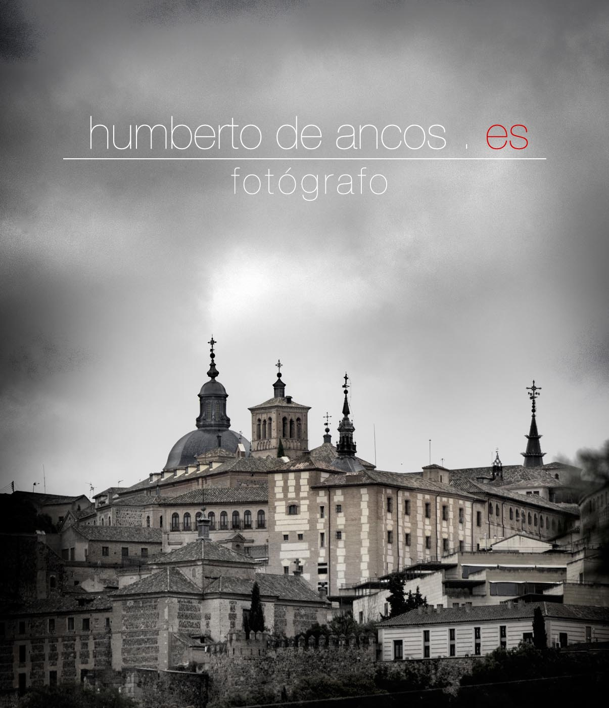 Panorámica de Toledo, Humberto de Ancos, Fotógrafo profesional