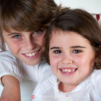 Fotografía de Estudio, María y José