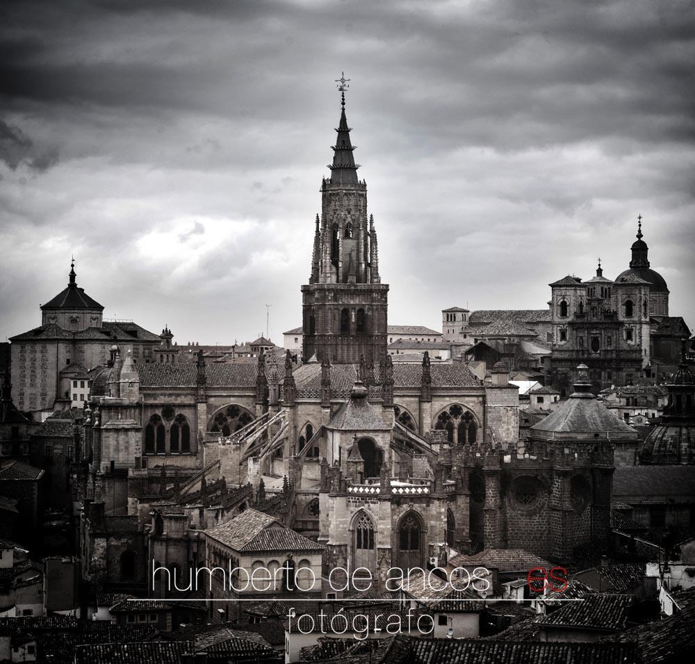 Catedral de Toledo, fotógrafo profesional, vista de toledo