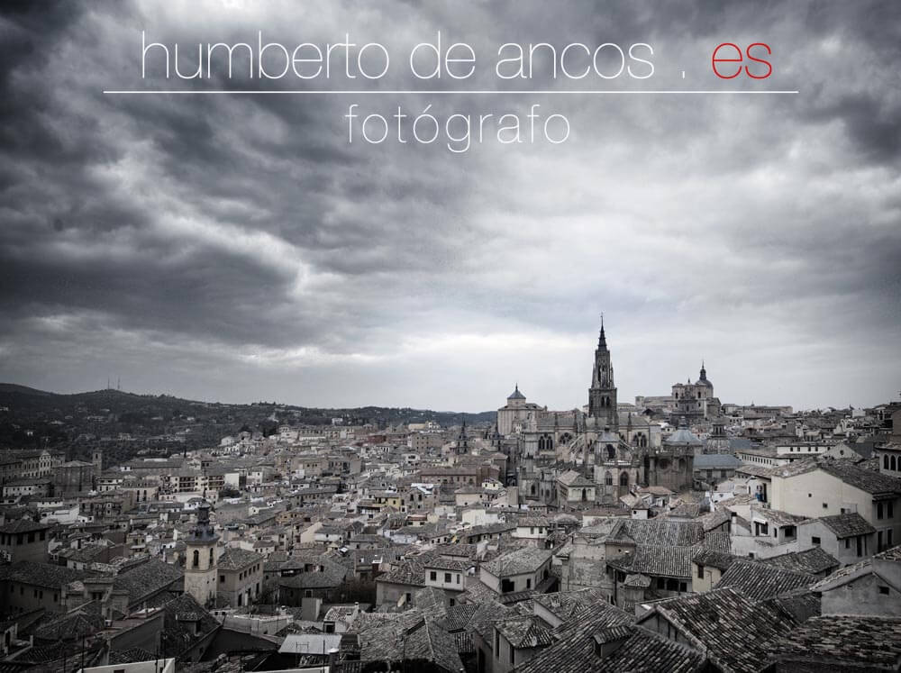 Panorámica de Toledo, Fotógrafo profesional
